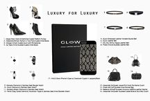 Luxury for Luxury / Featuring our HALO Glow iPhone 5 Swarovsi Crystal Cases paired with Luxury Brand Accessories for Fall/Winter 2014. #HALO #Halo2Cloud #Glow #iPhone5 #PhoneCase #Swarovski #Crystal #Luxury #HighEnd #Fashion #AvantGarde #Style #Vogue #Glamour #Couture #Model #Designer #HighFashion #Accessories #Accessorize