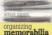 Organising Memorabilia