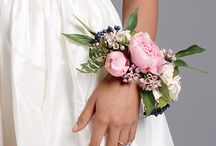 wedding flowerbracelet