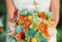 Stunning Wedding Bouquets  / A collection of eye catching bridal bouquets.