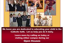 Enroll Now Open House Flier May 2015 / Desks open at both schools...come check us out!