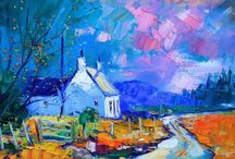 John Lowrie Morrison (jolomo) / Scottish artist from Glasgow (1948-