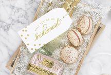 WEDDING // bridesmaid gifts