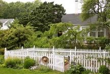 Garden fence inspiration