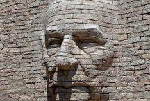 baksteenkunst figuratief