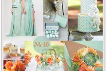 peach wedding ideas