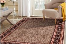Handknotted wool rug