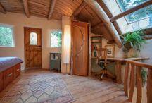přírodní interiéry