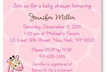Jungle Baby Shower/Events / by Rachael Bailey