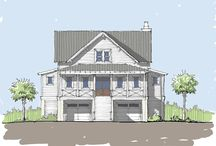 Dunes Cove Home Plan / Coastal Cottage Home Plan. The Dunes Cove plan is an elevated design ideal for coastal areas. This plan features an expansive master suite on the right of the house complete with his and her sinks, a spacious walk-in closet, and a private entry to the back porch.