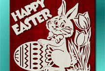 Vystřihovánky Velikonoce