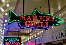 Navigate your way to Pure Food Fish Market! / Landmarks to help you find Pure Food Fish Market inside the Pike Place Market! / by Pure Food Fish Market