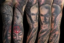My Tattoos / Tattoos done by Sándor Pongor