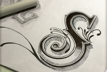fonts and lettering / by Teresa Wilhelmi