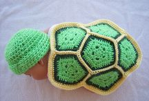 Baby crochet props