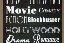 Cinema Theme Decor