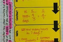 7th Grade Math / Creative and Accomplished Math Ideas / by Shawna Lippert