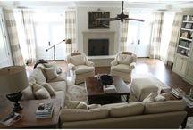 Living Room Ideas / by Kim Augeri
