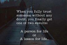 Friendships & Trust