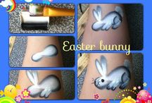 easter/pasqua face painting