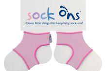 Pour les parents de jeunes bébés, découvrez les Sock'Ons ! [+Concours]