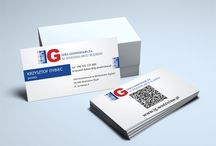 Visit cards / Projects of visit cards