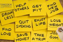 So what are your new year resolutions? presented by www.lincoln-edu.ae
