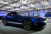 """Ford Shelby GT500 / Described as the """"ultimate Ford Mustang.""""  This car outperforms with its leading, powerful V8 engine, with 650 Horsepower, Top Speed of 200+ MPH!   / by Ford Canada"""