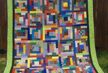Quilt Ideas / These are quilts I've found around the web that inspire me to want to copy them or create a variation on them or use the colors in the quilt -- fourteen years into quilting and I have a crazy number of quilts I still want to try.