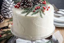 Inspiracje - torty Boże Narodzenie