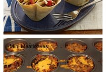 Muffin Tin recipes  / by Tabi Donaldson