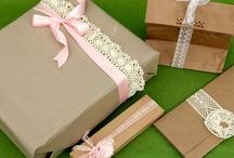 WRAPPING PACKAGES / by Kathi Townzen