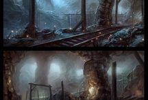 Окрусреда | Подземелья
