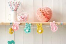 Crochet Garland / #Crochet#Garland