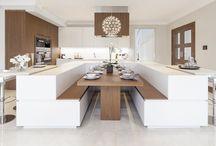 """Cucine / Lo stile 5 Stelle si caratterizza per gli spazi essenziali e la pulizia delle forme: un equilibrio distante dalle """"case moda"""" e più vicino al vero """"charme""""."""