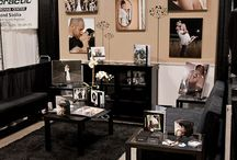 Bridal Show Setups /Trade Show DIsplay / Are you setting up for a trade show and want to attract customer to your booth? Check out some of these cool photos and try them out in your booth.