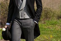 Top hat and Tails sir! / traditional Morning Suits