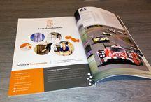 Advertenties tijdschrijften / Advertenties ontworpen voor klanten gedrukt in tijdschriften.