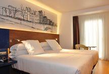 HABITACIÓN PILOTO / Imágenes de la habitación piloto del Hotel Blue Coruña.