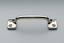 cabinet ideas / the right cabinet hardware is like cuff links or the perfect pair of earrings....