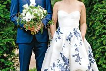 Colourful Wedding Dresses