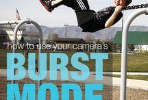 Photography burst mode