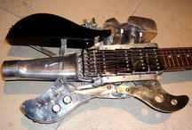 Extraordinary Guitars / A collection of amazing guitars found ...anywhere.... / by Dennis
