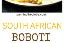 South African recipes