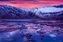 Lofoten Blue Sunset
