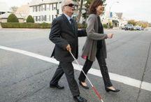 Blind people