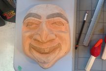 My work / Wood Carving
