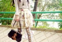 otome-mod-vintage kei / otome and mod/vintage fashion