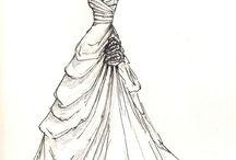 projekty sukni