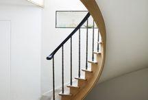 LA house staircase